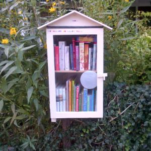 De inhoud van deze leuke kleine bibliotheek laat zien wie we zijn!