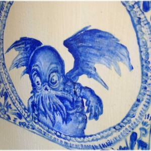 Delfsblauw - bluecthulhu klein formaat