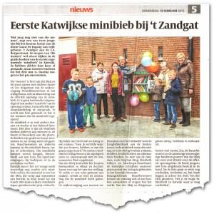 Opening Minibieb Zandgat