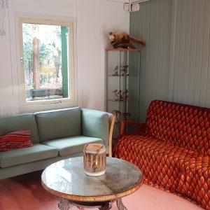 De vernieuwde huiskamer van De Boswerf